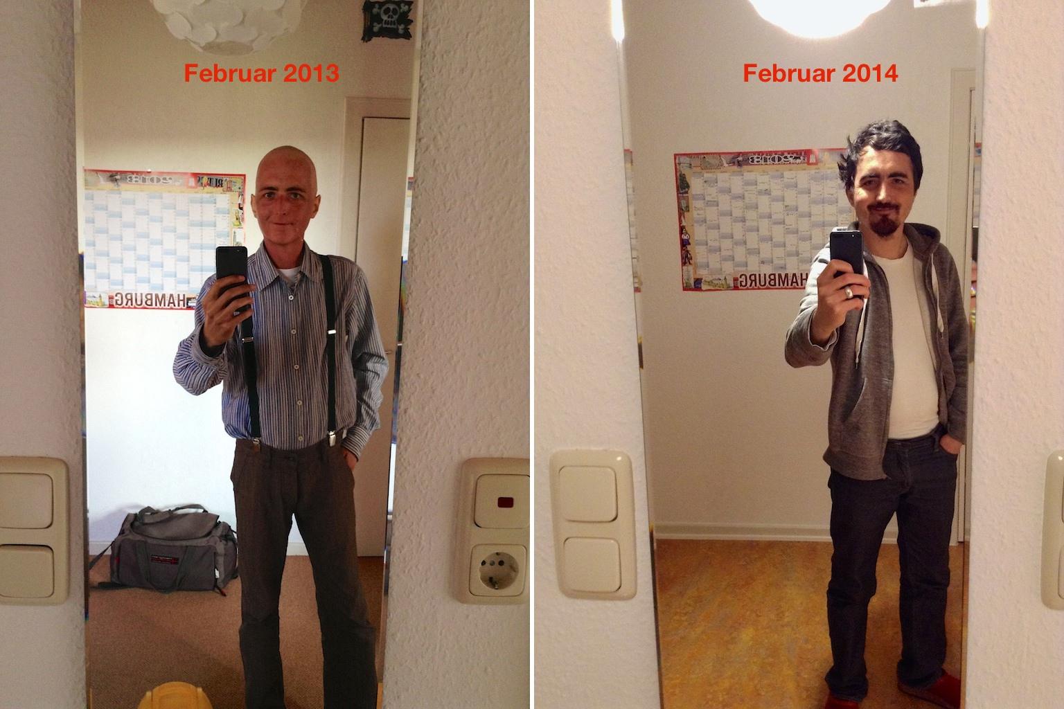 Vergleich im Spiegel